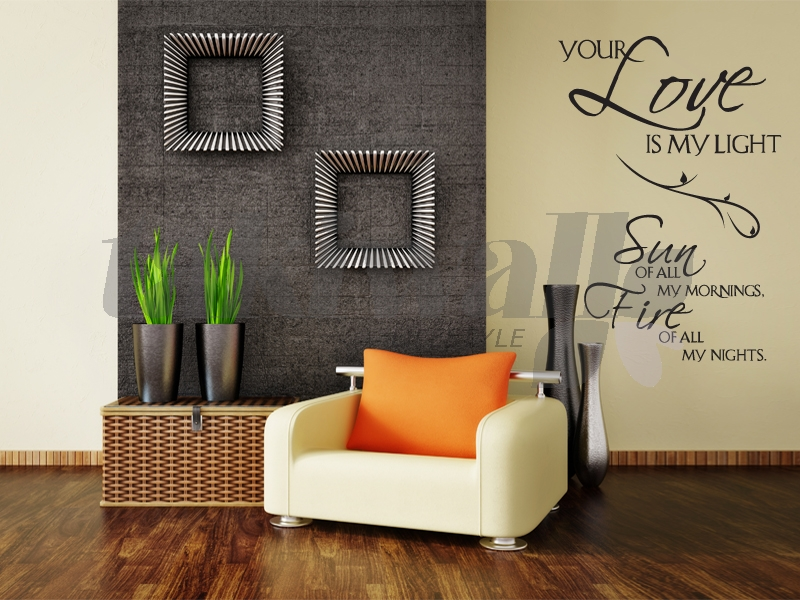 dubai print sticker your love quotes dubai shop