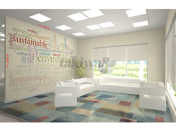 Office room vision quote