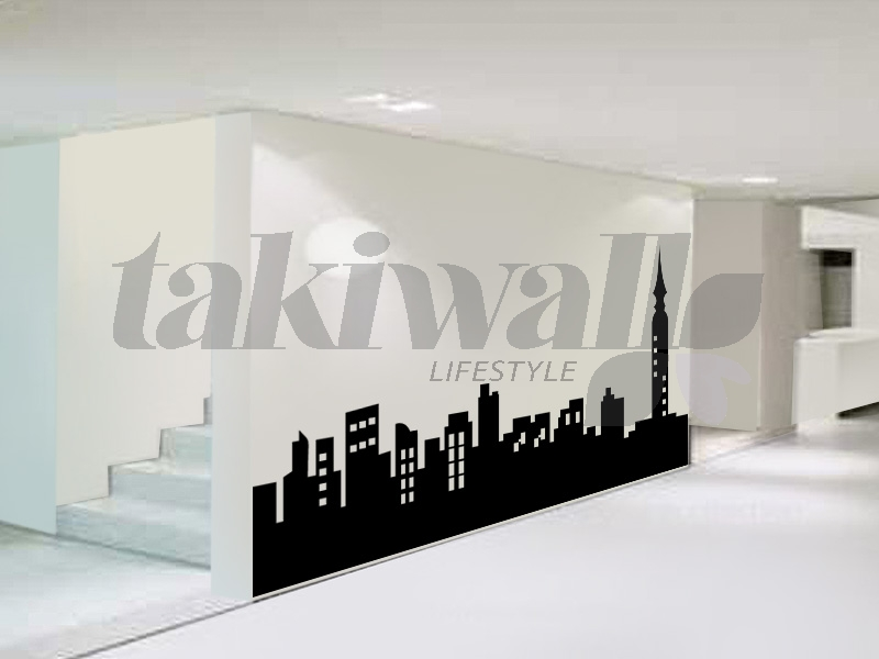 Dubai Print Sticker Skyline Modern DUBAI SHOP - Wall decals dubai