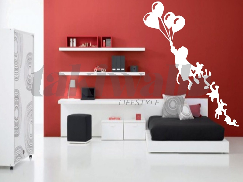 Foire Wall Sticker Decoration Decal