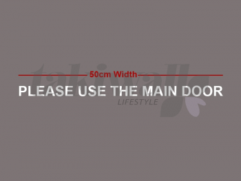 please use the next door
