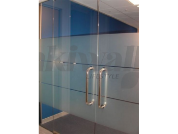 Office Glass Frosted Glass sticker