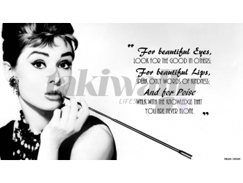 Audrey  decal