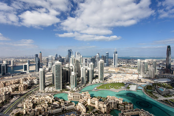 Skyline von Downtown Dubai