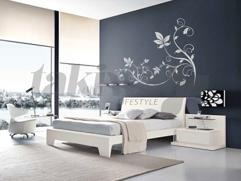 Decoration stickers muraux adhesif id e for Dessin mur salon