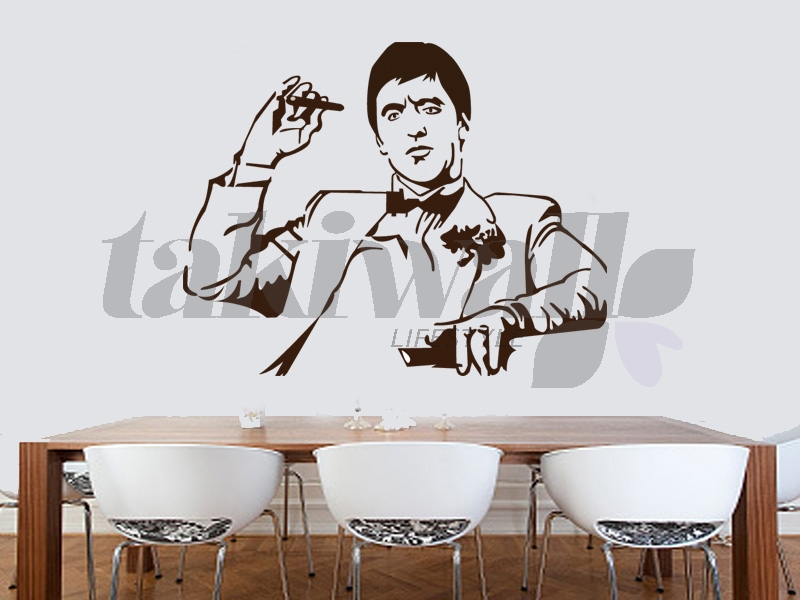 And there he his Al Paccino the famous actors of Scarface. A great wall wall sticker decal that remember so to not... with me.  sc 1 st  TAKIWALL & Dubai print sticker Al Paccino Artists DUBAI SHOP
