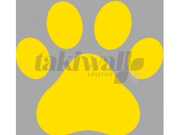 yellow paws